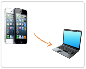 How to Transfer iPhone files to Computer without Data Cable