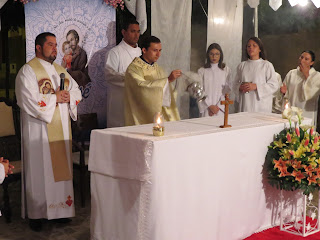 Imagens da 3ª noite da festa em honra a São José em Almino Afonso - RN