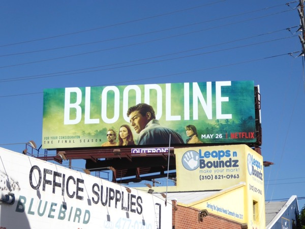 Bloodline final season billboard