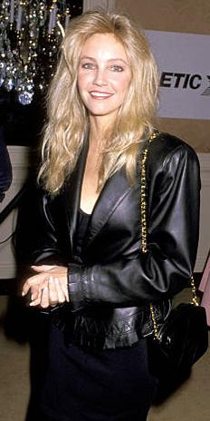 Leather Coat Daydreams Heather Locklear