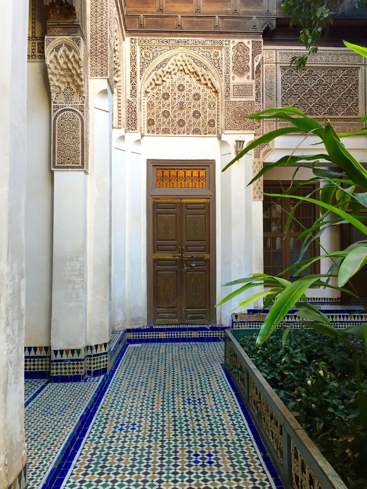 le palais bahia de marrakech