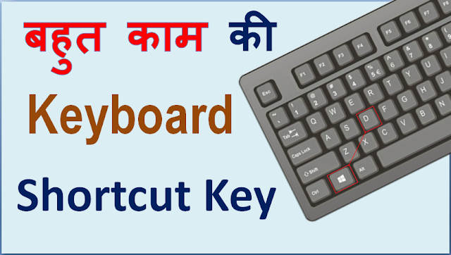 keyboard shortcuts, Computer shortcut key