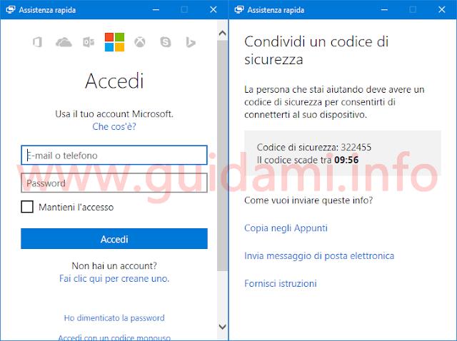 Entrare da remoto in un altro PC Windows 10 distante per dare o ricevere assistenza