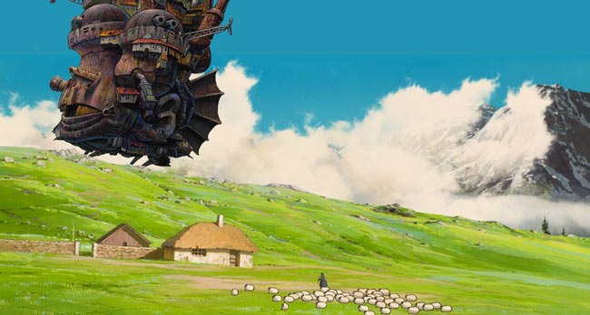 howls moving castle wallpaper engine free wallpaper