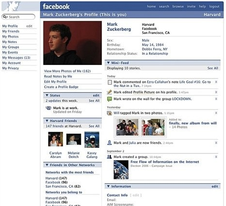 facebook timeline new style 2013 2014