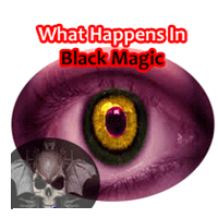 read about happenings after black magic is done