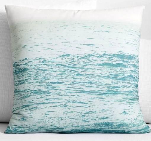 Ocean Photo Pillow Cover