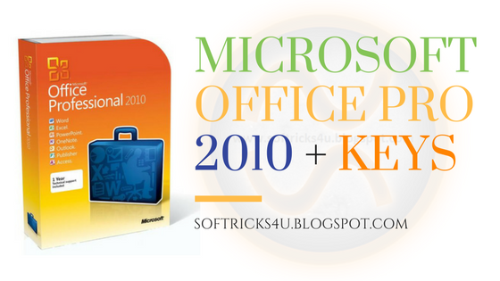 microsoft office 2010 keys serial