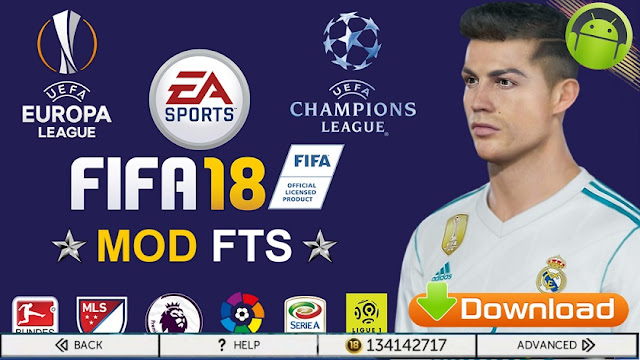Download FTS Mod FIFA 18 Ultra Android Graphic