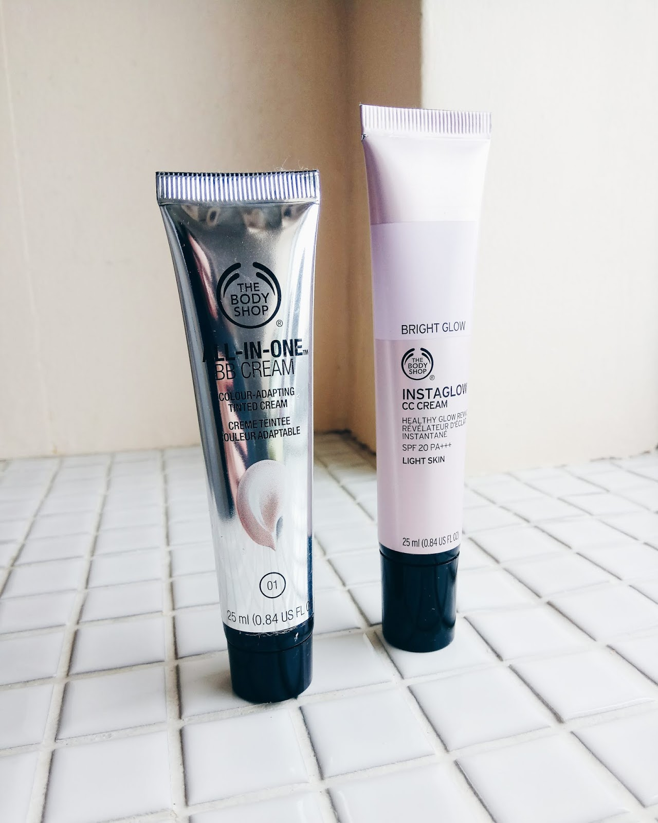 The Body Shop base products