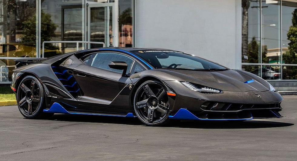 Lamborghini Delivers The First Centenario In The U S