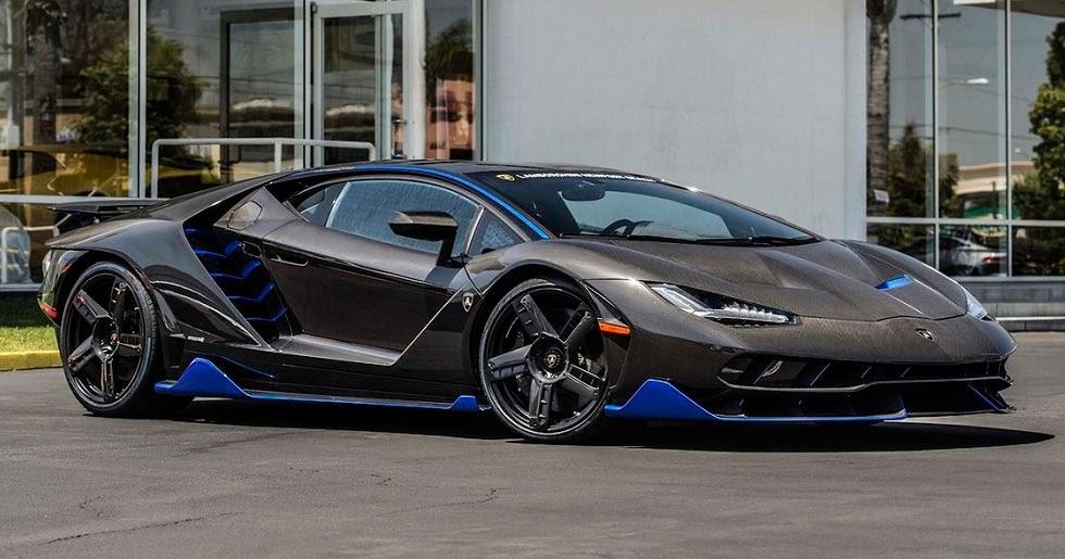Lamborghini Delivers The First Centenario In The U S