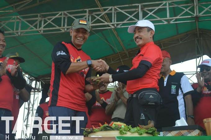 Gowes Komando Peringati HUT Ke 73 TNI Diikuti 5000 Peserta