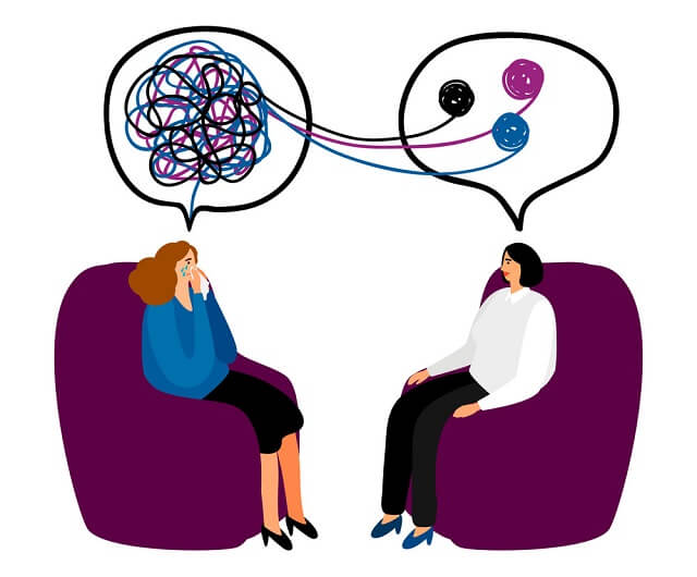 clientul terapie psihoterapie pacient