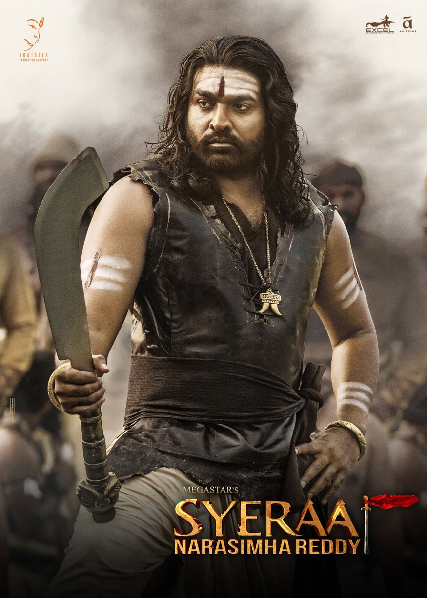 Sye Raa Narasimha Reddy 2019 full Hindi Movie 700MB Pre-DVDRip 720p