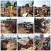 Photo News: Destruction of Shanties and Illegal structures at Onitsha.