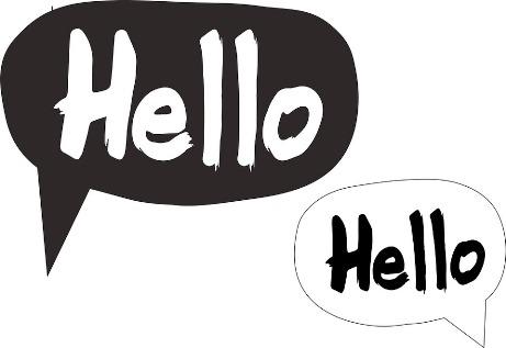 bicara inggris, hello