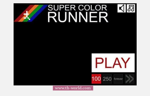 لعبة-Super-Color-Runner