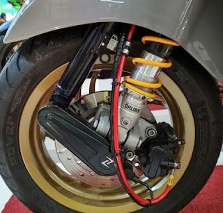 shockbreaker ohlins Modifikasi Vespa