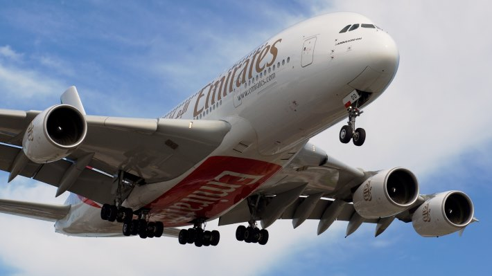 Wallpaper 2: Fly Emirates Airbus A380-800