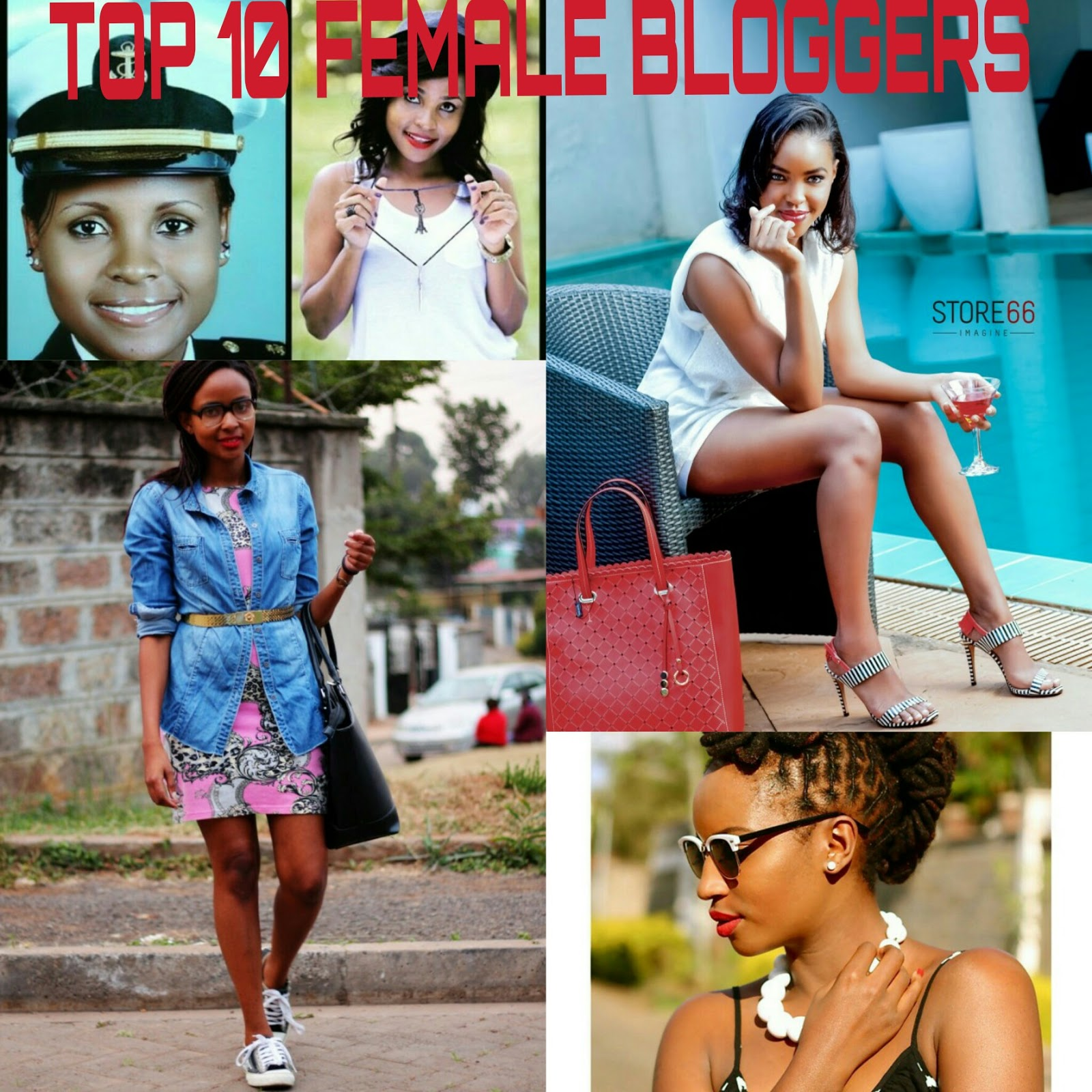 Top 10 fashion bloggers - Top 10 Female Fashion Bloggers In Kenya