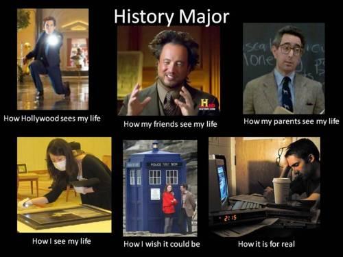 Room 167: History Majors