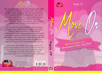"Menerbitkan Buku Yang Kedua, ""Move On, Memaafkan Masa Lalu Menyambut Cinta Yang Baru."""