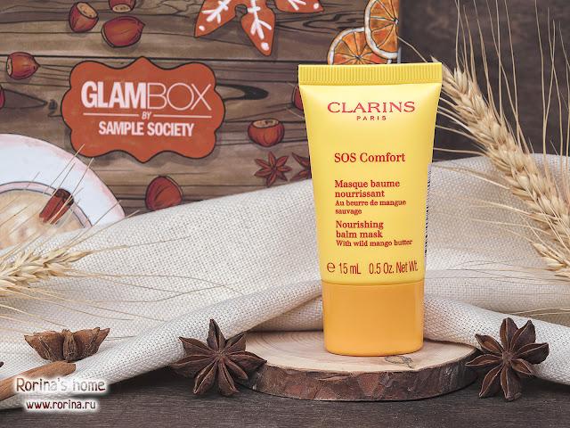 Clarins SOS Comfort Питательная маска с маслом манго: отзывы
