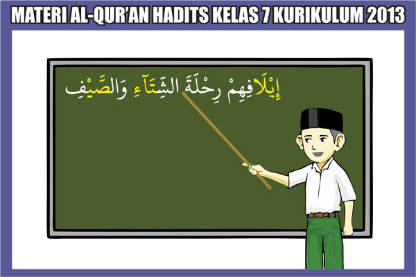 Materi Al-Qur'an Hadits Kelas 7 MTs/SMP Semester 1/2 Kurikulum 2013