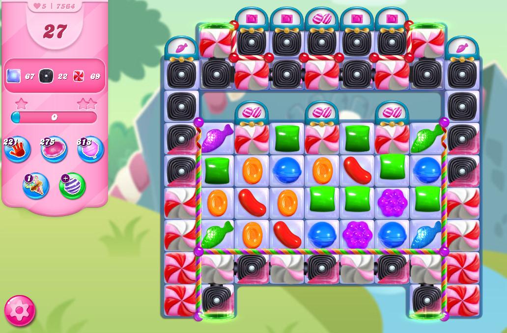 Candy Crush Saga level 7564