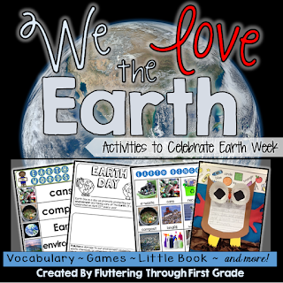 Earth week activities for the primary classroom.