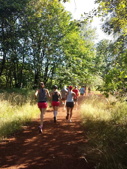 Oiselle runs Pre's Trail
