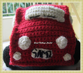 free crochet pattern, crochet car snuggle, crochet stuff toy, crochet amigurumi