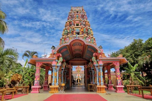 Templo Kaylasson en Abercrombie Port Louis