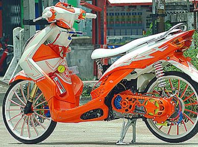 Modifikasi Honda Mio Modifikasi Motor Kawasaki Honda Yamaha