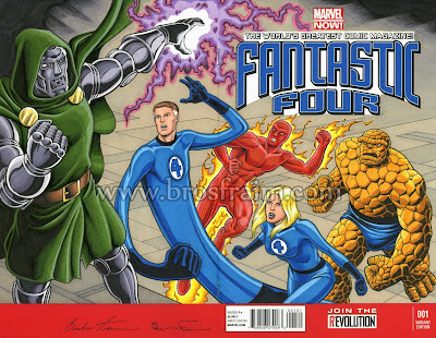 FANTASTIC FOUR #1 Sketch Cover!