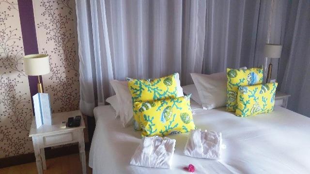 Nosso quarto, charmoso e confortável