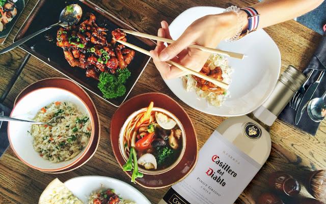 Los mejores vinos para acompañar comida agridulce