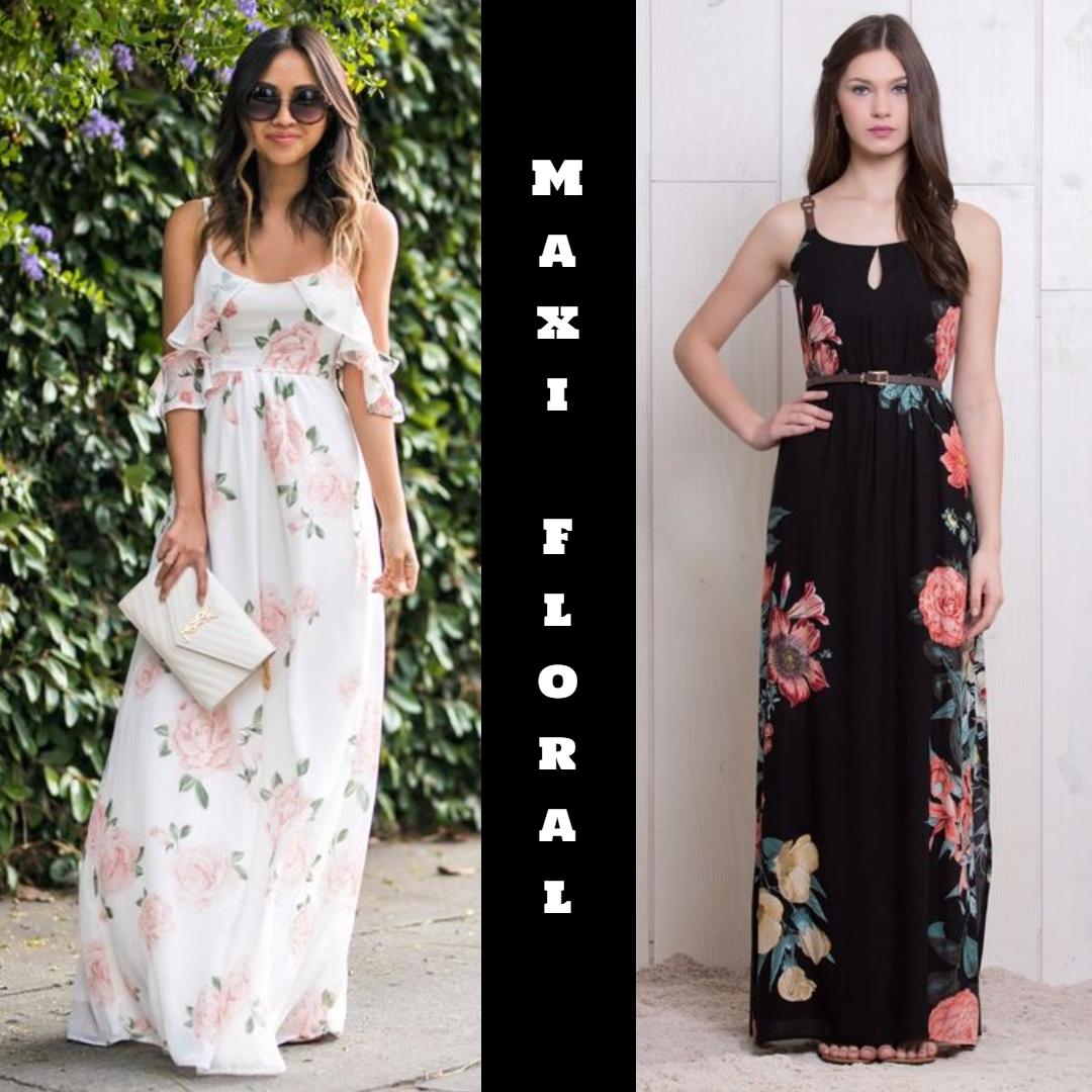 34a41211bd Maxi Floral - A estampa do verão 2018 - Universo Ma Chérie