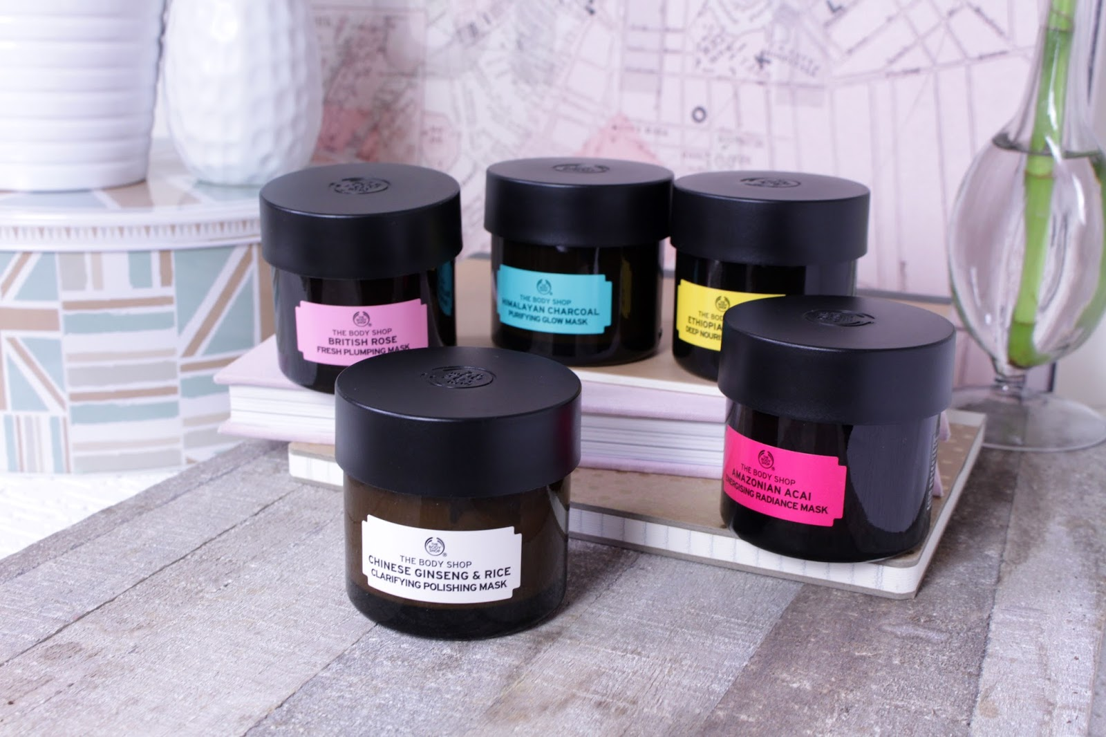 The Body Shop Masques Experts