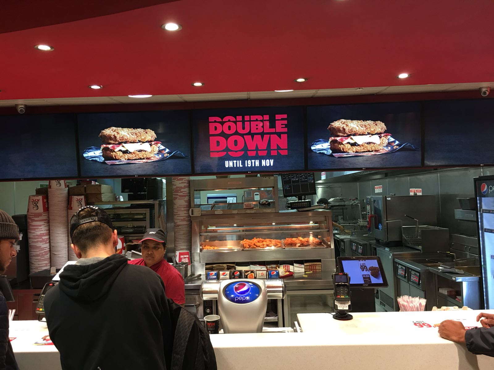 Kentucky Fried Bloggin Double Down Uk Review By The Fans For The