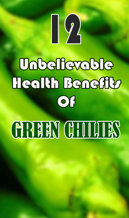 health benefits of green chilies