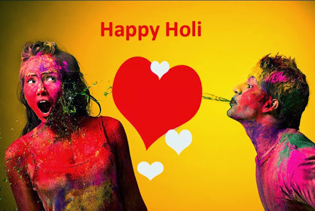 Happy Holi Images for girlfriend 2017