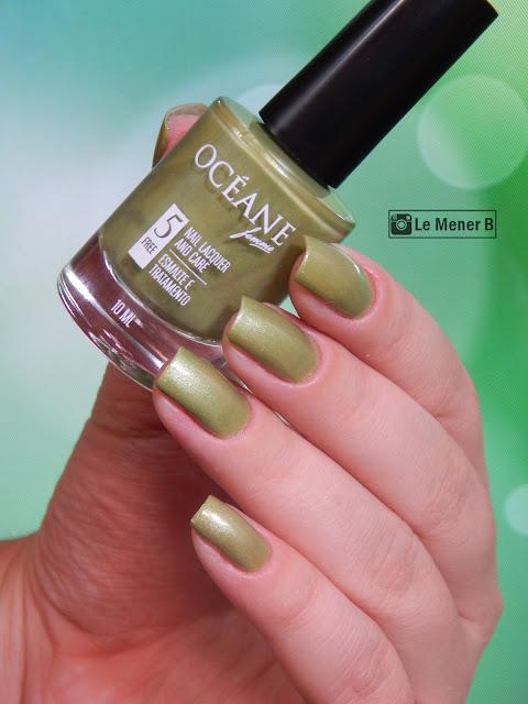 unhas-com-esmalte-verde