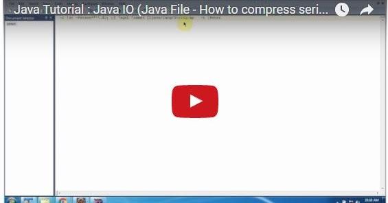 Java ee java tutorial java io java file how to for Pool design pattern java
