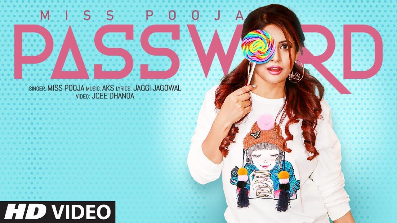Password Lyrics, Miss Pooja