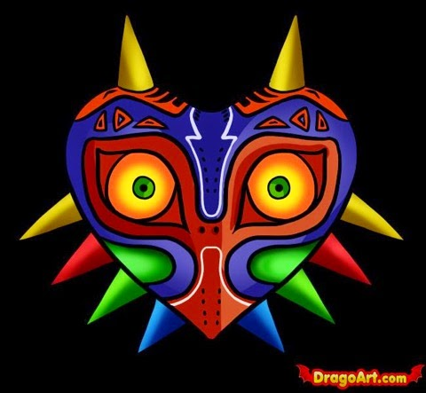 Things and Stuff: Majora's Mask Paper Mache Project