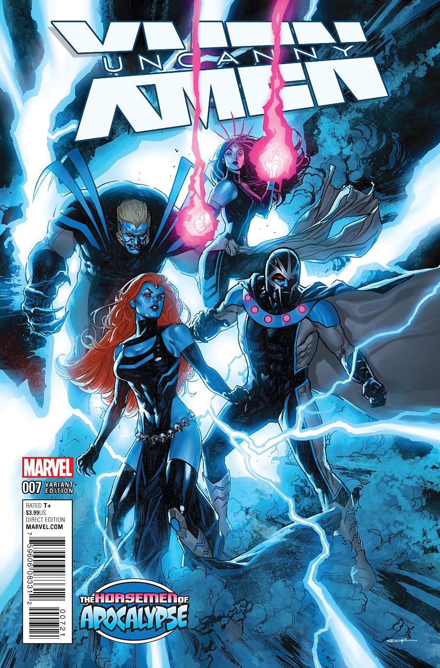El Rincón Geek: Uncanny X-Men Vol.4 (19-19) (Finalizada)
