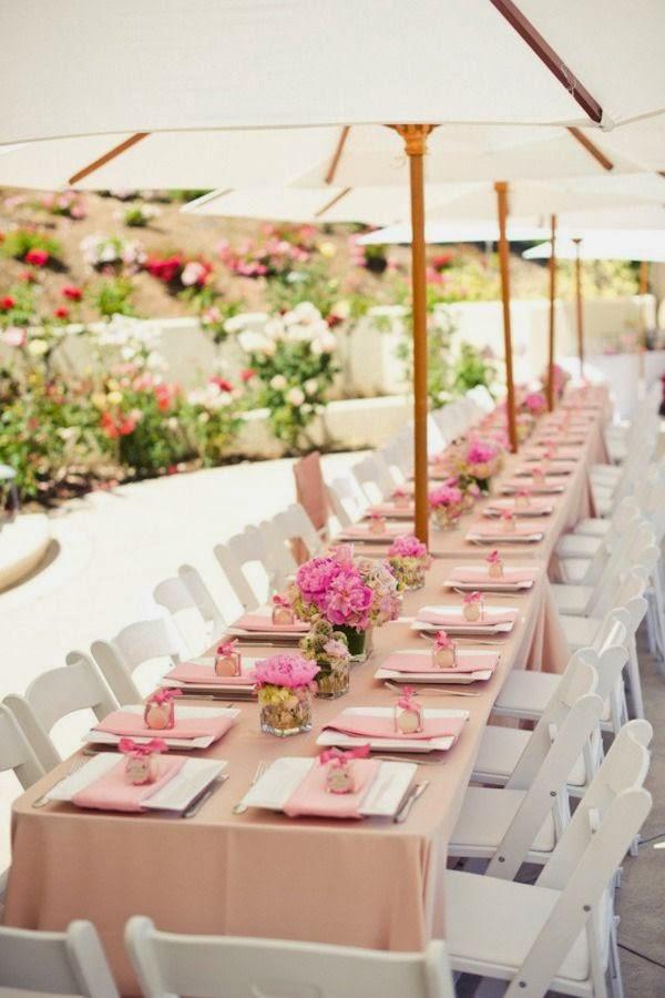 Ideas For A Garden Summer Wedding