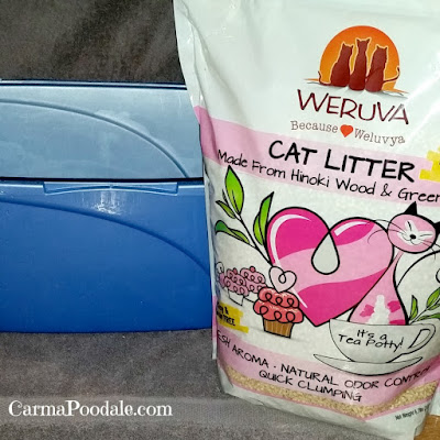 Weruva cat litter